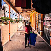 The Bolivian town of Guayaramerin lives of the commerce with Brazil. Everyday hundreds of Brazilians come here to buy goods for better prices