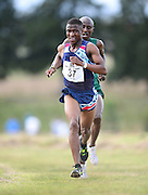 GEORGE, SOUTH AFRICA - SEPTEMBER 10: Precious Mashele of Athletics Gauteng North (AGN) in the mens 10km during the  2016 South African Cross Country Championships held at The Olympia School of Skills in Pacaltsdorp on September 10, 2016 in George, South Africa. (Photo by Roger Sedres/Gallo Images)