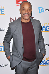 Rocky Carroll arrives at the TV Guide Magazine and CBS Celebrate Mark Harmon Cover & 15 Seasons Of NCIS held at the River Rock at Sportsmen's Lodge in Studio City, CA on Monday, November 6, 2017. (Photo By Sthanlee B. Mirador/Sipa USA)