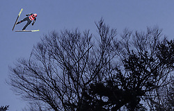 02.02.2019, Heini Klopfer Skiflugschanze, Oberstdorf, GER, FIS Weltcup Skiflug, Oberstdorf, im Bild Karl Geiger (GER) // Karl Geiger of Germany during his Jump of FIS Ski Jumping World Cup at the Heini Klopfer Skiflugschanze in Oberstdorf, Germany on 2019/02/02. EXPA Pictures © 2019, PhotoCredit: EXPA/ JFK