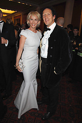 TRUDIE STYLER and MONTY DON at the Feast of Albion a sumptious locally-sourced banquet in aid of The Soil Association held at The Guildhall, City of London on 12th March 2008.<br />