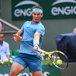 Rafael Nadal (Spain) during Day 9 for the French Open 2018 on June 4, 2018 in Paris, France. (Photo by Anthony Dibon/Icon Sport)