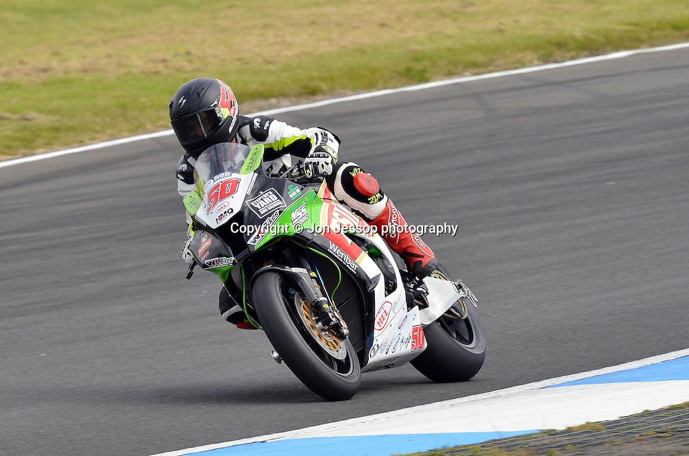 #50 Harry Hartley Tsingtao Racing Kawasaki British Superbikes