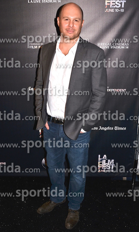 Marc Meyers arrived at the World Premiere of How He Fell In Love at the 2015 Los Angeles Film Festival. EXPA Pictures &copy; 2015, PhotoCredit: EXPA/ Photoshot/ Billy Bennight<br /> <br /> *****ATTENTION - for AUT, SLO, CRO, SRB, BIH, MAZ only*****