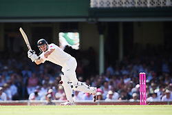 © Licensed to London News Pictures. 04/01/2014. Shane Watson batting during day 2 of the 5th Ashes Test Match between Australia Vs England at the SCG on 4 January, 2013 in Melbourne, Australia. Photo credit : Asanka Brendon Ratnayake/LNP