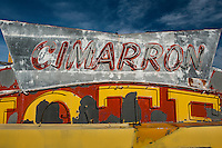 Cimarron Hotel Neon Sign at the Neon Boneyard, Las Vegas, NV