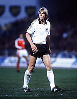 Bernd Schuster (West Germany) W.Germany v Austria.  29/4/1981. Credit : Colorsport