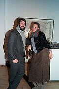 TOM CRAIG; BAY GARNETT, Lulu Guinness And Rob Ryan Fan Bag - Launch Party. Air Gallery. London. 10 November 2010.  -DO NOT ARCHIVE-© Copyright Photograph by Dafydd Jones. 248 Clapham Rd. London SW9 0PZ. Tel 0207 820 0771. www.dafjones.com.