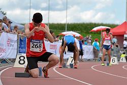 05/08/2017; Madronero Ramon, David, T47, ESP at 2017 World Para Athletics Junior Championships, Nottwil, Switzerland
