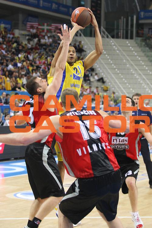 DESCRIZIONE : Torino Eurocup 2009 Finale Lietuvos Rytas BC Khimki<br /> GIOCATORE : Kelly McCarty<br /> SQUADRA : BC Khimki<br /> EVENTO : Eurocup 2009<br /> GARA : Lietuvos Rytas BC Khimki<br /> DATA : 05/04/2009<br /> CATEGORIA : Tiro<br /> SPORT : Pallacanestro<br /> AUTORE : Agenzia Ciamillo-Castoria/G.Ciamillo