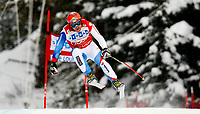 ALPINE SKIING - WORLD CUP 2011/2012 - LAKE LOUISE (CAN) - 26/11/2011 - PHOTO : MARCO TROVATI / PENTAPHOTO / DPPI - MEN DOWNHILL - Didier  Cuche (Sui) / WINNER
