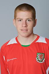 SWANSEA, WALES - Monday, March 30, 2009: Wales' Under-21 Nathan Craig. (Photo by David Rawcliffe/Propaganda)