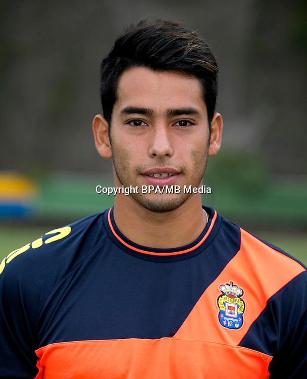Spain - La Liga Santander 2016-2017 / <br /> ( UD Las Palmas ) - <br /> Sergio Ezequiel Araujo &quot; Sergio Araujo &quot;