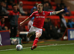 Charlton Athletic Chris Solly in action