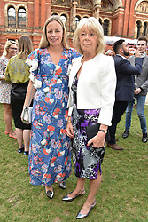 Astrid Harbord and Sarah Juliet Harbord at the Victoria & Albert Museum's Summer Party in partnership with Harrods at The V&A Museum, Exhibition Road, London, England. 20 June 2018.