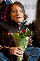 WICKER Anja, GER, Biathlon Pursuit Podium, 2015 IPC Nordic and Biathlon World Cup Finals, Surnadal, Norway
