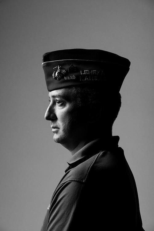 Chris Stergos<br /> Marine Corps<br /> E-5<br /> Intelligence Analyst<br /> Dec. 26, 2000 - Dec. 25, 2005<br /> GWOT, OIF<br /> <br /> Veterans Portrait Project<br /> St. Louis, MO