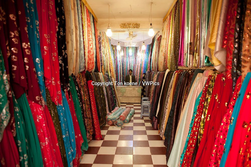 clothes shop in herat, Afghanistan
