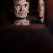 Ian Rankin, author. <br /> Copyright photograph by Tina Norris