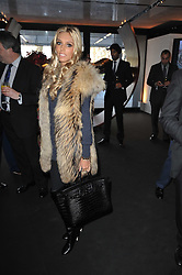 PETRA ECCLESTONE at the launch of One Hyde Park, The Residences at Mandarin Oriental, Knightsbridge, London on 19th January 2011.