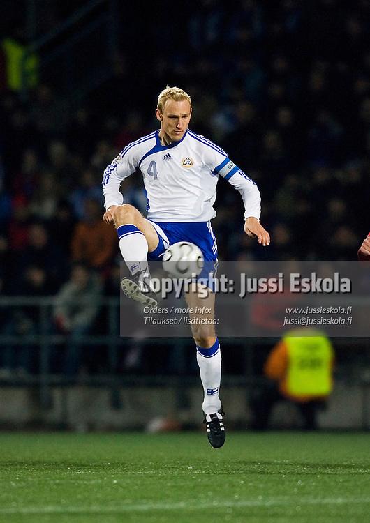 Sami Hyypi&auml;.&amp;#xA;Suomi-Armenia, Finnair Stadium, Helsinki 15.11.2006. EM-karsintaa.&amp;#xA;Photo: Jussi Eskola<br />