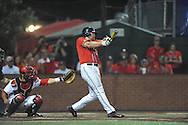 Mississippi's Sikes Orvis (24) vs. Louisiana-Lafayette in an NCAA Super Regional game in Lafayette, La. on Sunday, June 8, 2014. Mississippi won 5-2.