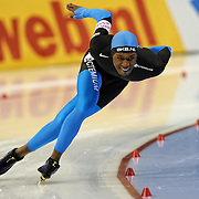 Shani Davis - US Speed Skating Team - Long Track Speed Skating - Photo Archive
