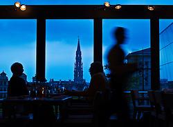 Mont des Arts (Arts Hill) Brussels, Belgium. (Photo © Jock Fistick)