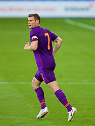 BIRKENHEAD, ENGLAND - Tuesday, July 10, 2018: Liverpool's captain James Milner during a preseason friendly match between Tranmere Rovers FC and Liverpool FC at Prenton Park. (Pic by Paul Greenwood/Propaganda)