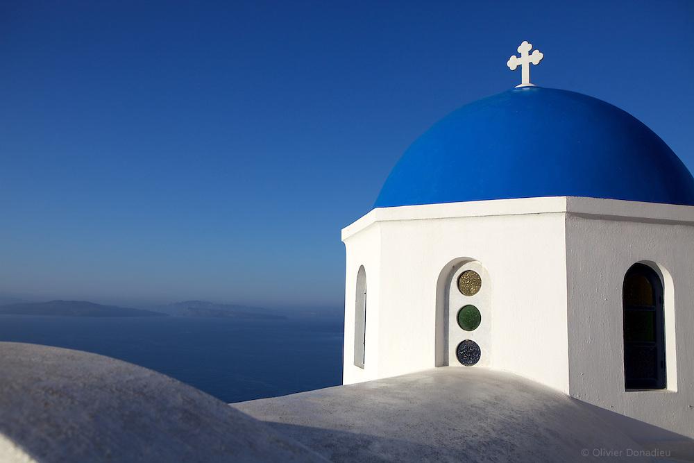 Greek orthodox church. Eglise orthodoxe grecque.