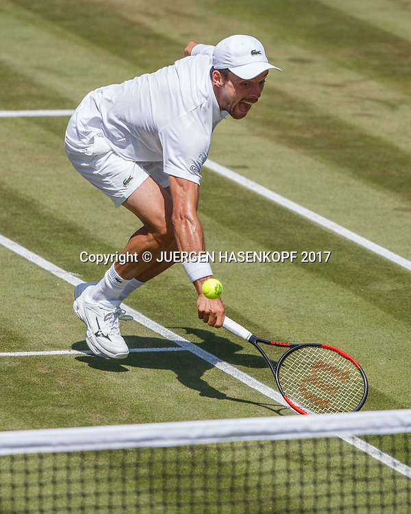 ROBERTO BAUTISTA AGUT (ESP)<br /> <br /> Tennis - Wimbledon 2017 - Grand Slam ITF / ATP / WTA -  AELTC - London -  - Great Britain  - 7 July 2017.