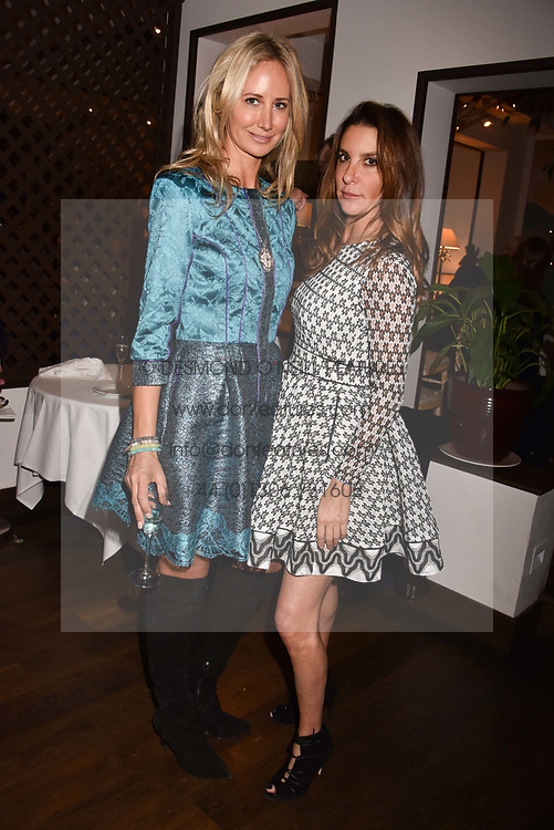 Left to right, Lady Victoria Hervey and Dori Cooperman at The Calling: Heal Ourselves Heal Our Planet held at San Lorenzo, 22 Beauchamp Place, London England. 28 March 2017.