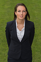 team doctor Suzanne Huurman during the team presentation of Go Ahead Eagles on July 15, 2016 at the Adelaarshorst Stadium in Deventer, The Netherlands.