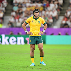 Christian LEALIIFANO of Australia during the Rugby World Cup 2019 Quarter Final match between England and Australia on October 19, 2019 in Oita, Japan. (Photo by Dave Winter/Icon Sport) - Christian LEALIIFANO - Oita Stadium - Oita (Japon)