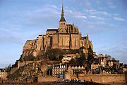 Le Mont St. Michel, France.