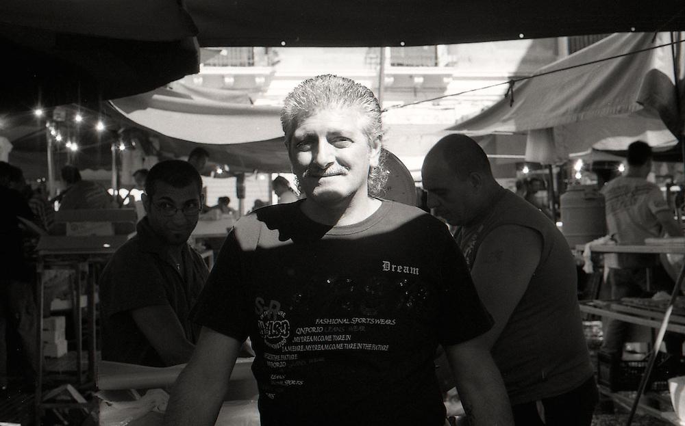 Mercato del pesce Catania, Fish market Catania, Italy 2011