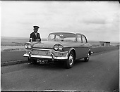 1961 - Humber Snipe car with Mr Pike chauffeur,  for the visit of Prince and Princess of Monaco