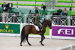 Luiza Tavares De Almeida, (BRA), Pastor - Grand Prix Team Competition Dressage - Alltech FEI World Equestrian Games™ 2014 - Normandy, France.<br /> © Hippo Foto Team - Leanjo de Koster<br /> 25/06/14