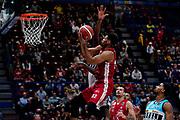 Brooks Jeff  <br /> A X Armani Exchange Olimpia Milano - Vanoli Cremona <br /> Basket Serie A LBA 2019/2020<br /> Milano 09 February 2020<br /> Foto Mattia Ozbot / Ciamillo-Castoria