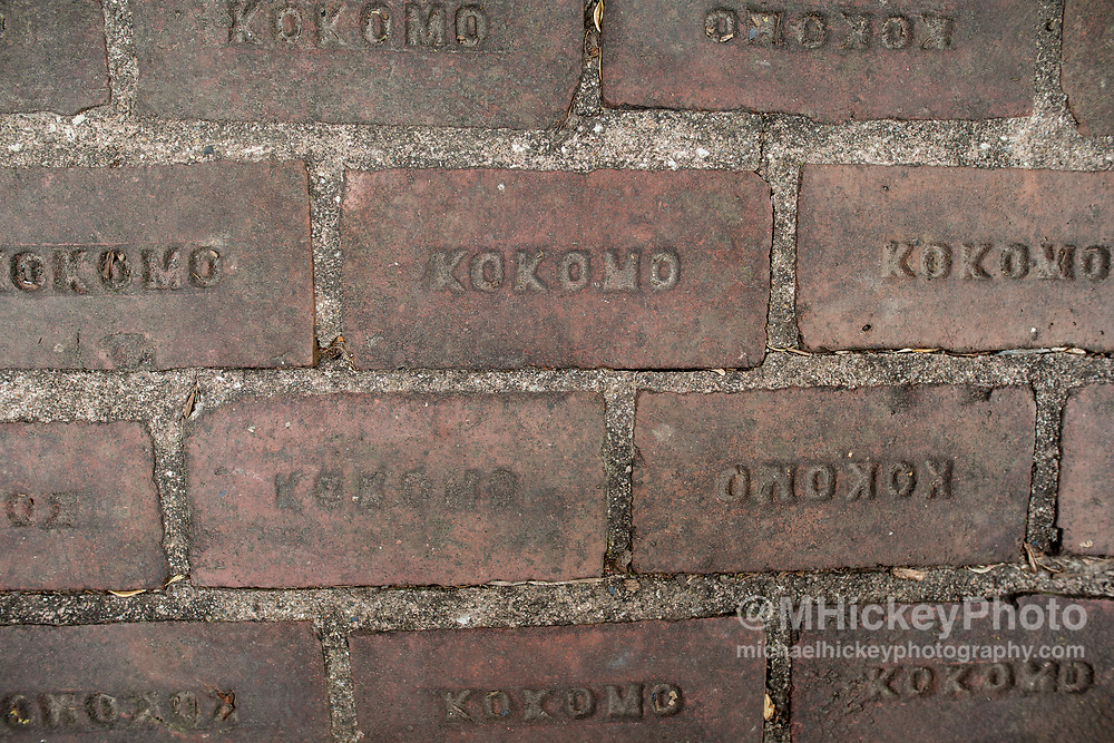 Kokomo bricks at Seiberling Mansion - Kokomo, Indiana