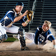 Drew (left) and Bret Neuville are Press Gazette Media's baseball players of the year for 2013. Lukas Keapproth/Press Gazette Media