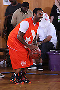 New York, NY - JULY 11:  Jim Jones attends the MTV2 Presents: Converse Band of Ballers 3-on-3 celebrity basketball tournament at St. George's Middle School on July 11, 2011. (Photo by Ben Hider/PictureGroup)