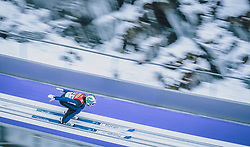 16.02.2020, Kulm, Bad Mitterndorf, AUT, FIS Ski Flug Weltcup, Kulm, Herren, im Bild Timi Zajc (SLO) // Timi Zajc of Slovenia during the men's FIS Ski Flying World Cup at the Kulm in Bad Mitterndorf, Austria on 2020/02/16. EXPA Pictures © 2020, PhotoCredit: EXPA/ Dominik Angerer