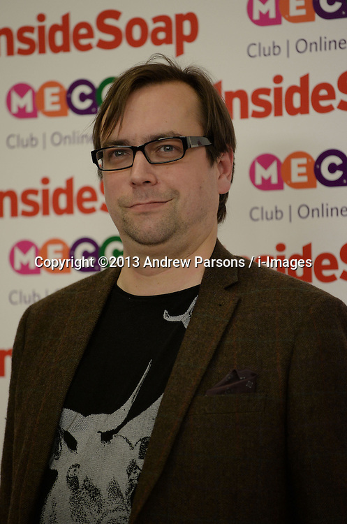 Inside Soap Awards.<br /> Dan Tetsell arrives for the Inside Soap Awards, Ministry of Sound, London, United Kingdom,<br /> Monday, 21st October 2013. Picture by Andrew Parsons / i-Images