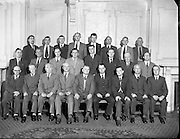 07/07/1955<br /> 7 July 1955<br /> <br /> Customs and Excise Officials Meeting at Jury's Hotel
