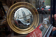 window display at an antique store in Paris St. Germain des Pres Rue des Saints Peres