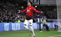 Jesse Lingard of Manchester United scores a goal making it 1-4- Mandatory by-line: Nizaam Jones/JMP - 22/12/2018 -  FOOTBALL - Cardiff City Stadium - Cardiff, Wales-  Cardiff City v Manchester United - Premier League