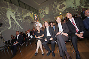"Vienna. MuseumsQuartier (MQ Vienna) is celebrating its 10th year. Leopold Museum, opening of the exhibition ""Melancholy and Provocation: The Egon Schiele project"". From l.: Elisabeth Leopold, widow of founder Rudolf Leopold; his son Diethard Leopold; City Counselor Andreas Mailath-Pokorny; Tobias Natter, Museum Director."