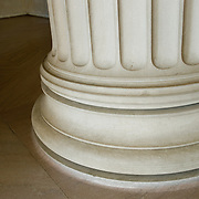Marble column in the Lincoln Memorial