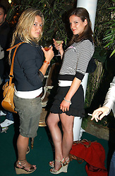 Left to right, LAUREN SCOTT and KATE SUMNER daughter of Sting at a party to celebrate the launch of the new Matthew Williamson fragrance held at Harvey Nichols, Knightsbridge, London on 14th June 2005.<br />